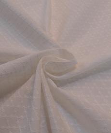 Coton ivoire brodé Hilco (2.2€/10cm)