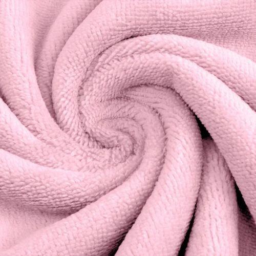 Eponge de Bambou coton rose (1.39€/10cm)