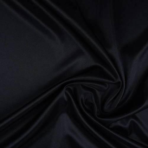 Doublure charmeuse noir (2.5€/50cm)