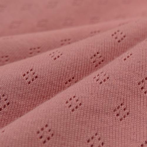 Jersey tricot de coton ajouré Hilco