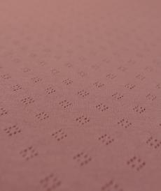 Jersey tricot de coton ajouré Hilco (1.35€/10cm)