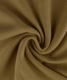 Bord côte en coton couleur beige