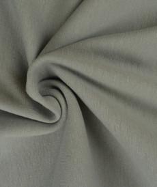 Bord côte en coton couleur gris clair (0.7€/10cm)