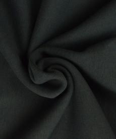 Bord côte en coton couleur gris foncé