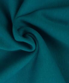 Bord côte en coton couleur pétrole clair (0.7€/10cm)