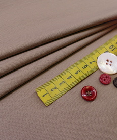 French terry bouclettes taupe (1.1€/10cm)