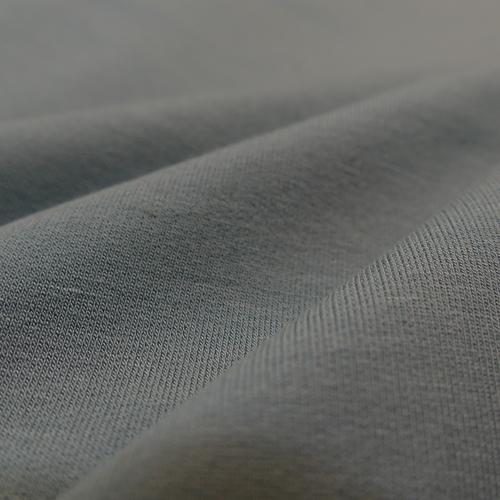 Jersey sweat bouclettes Modal vert ancien d'Hilco (1.7€/10cm)