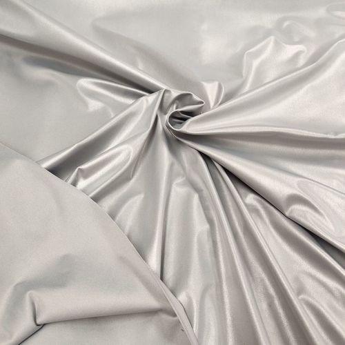 PUL- toile enduite imperméable- gris (7.5€/50cm)
