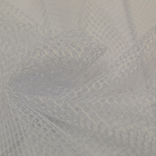 Tissu Filet mesh blanc 4.5€/m