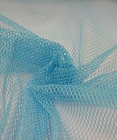 Tissu Filet mesh aqua vendu 4.5€/m
