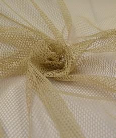 Tissu Filet mesh bleige vendu 4.5€/m