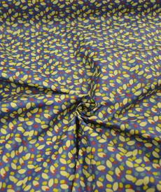 Coton enduit Arcol indigo ocre