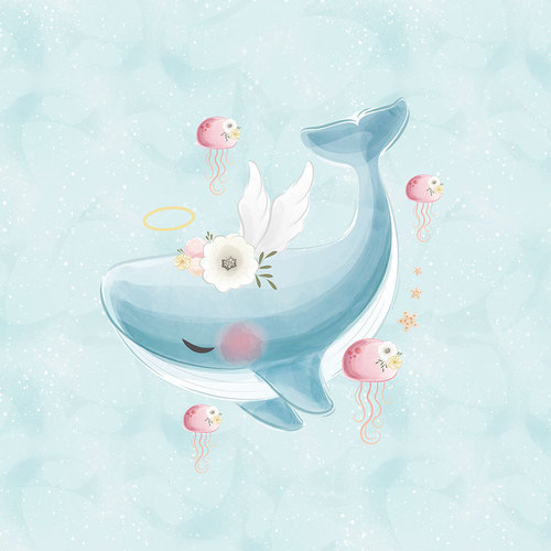 Panneau coton baleine