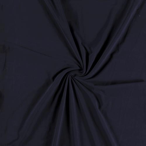 Jersey de coton brossé marine