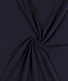 Jersey de coton brossé marine (1.15€/10cm)
