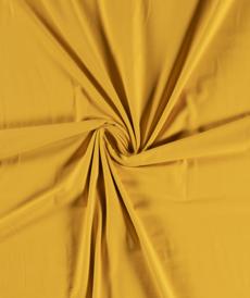 Jersey de coton jaune ocre (1.15€/10cm)