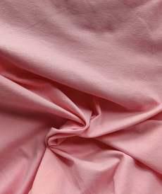 Jersey de coton brossé rose vif (1.15€/10cm)