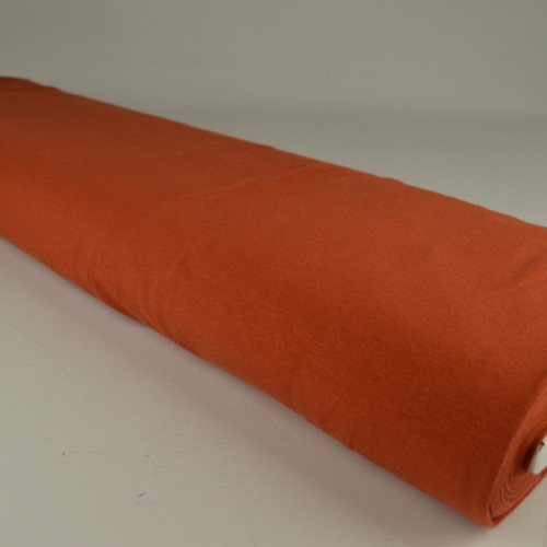 Jersey de coton uni brique (0.9€/10cm)