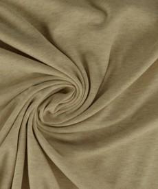 Jersey de coton beige chiné