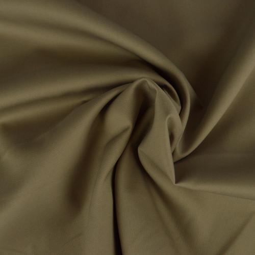 Coton Twill beige taupé (0.9€/10cm)