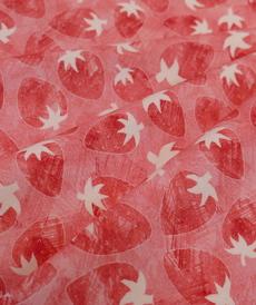 Jersey de coton Fraises d'Hilco