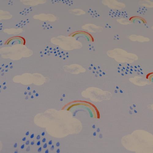 """Jersesy de coton """"petits nuages"""" d'Hilco"""