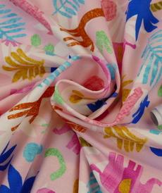 Jersey de coton safari coloré d'Hilco