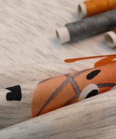 Jersey de coton sweat bouclette baseball d'Hilco (2.1€/10cm)