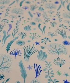 Jresey de coton plantes aquatiques de la marque Hilco