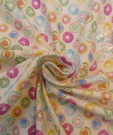 Jersey de coton Coeurs de la marque Hilco