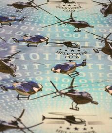 Jersey de coton Hélicoptères Stenzo (8€/50cm)