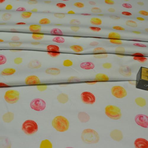 Jersey de coton imprimé boules de glace Stenzo (8€/50cm)