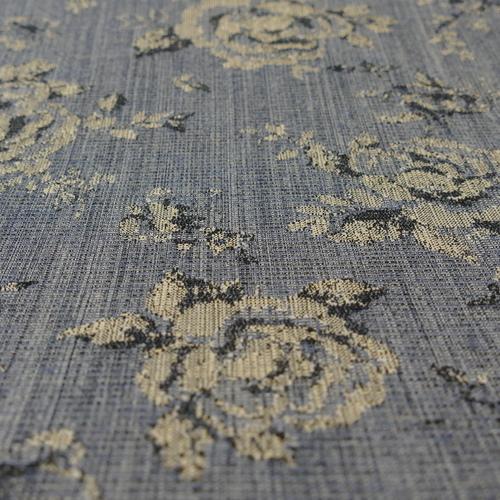 Tissu jacquard stertch aux grandes fleurs d'Hilco