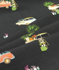 Tissu Viscose imprimé Camper d'Hilco