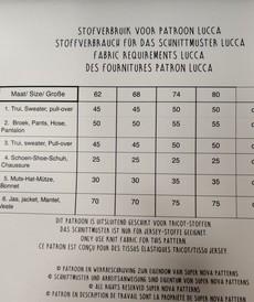 Patron LUCCA Stenzo