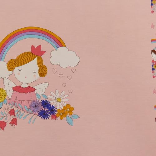 Jersey de coton panneau princesse d'Hilco