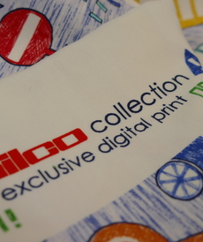 Jersey de coton trafic line d'Hilco (2.2€/10cm)