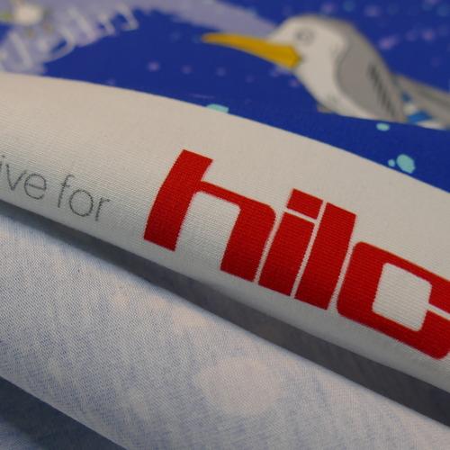Panneau jersey de coton Pingouin d'Hilco