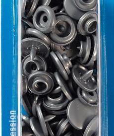Pression Prym Color Snaps 12.4mm gris argenté