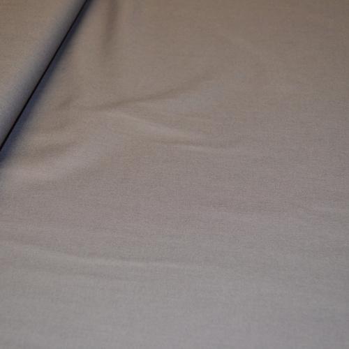 Popeline de coton anthracite