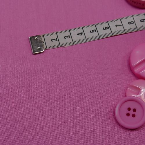Popeline de coton rose vif (0.7€/10cm)