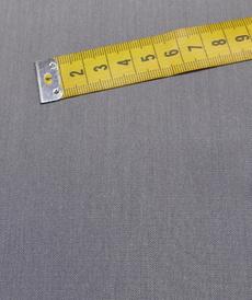 Tissu gabardine extensible gris souris (1€/10cm)