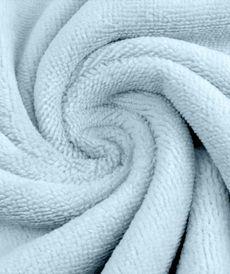 Eponge de Bambou coton bleu ciel (1.39€/10cm)