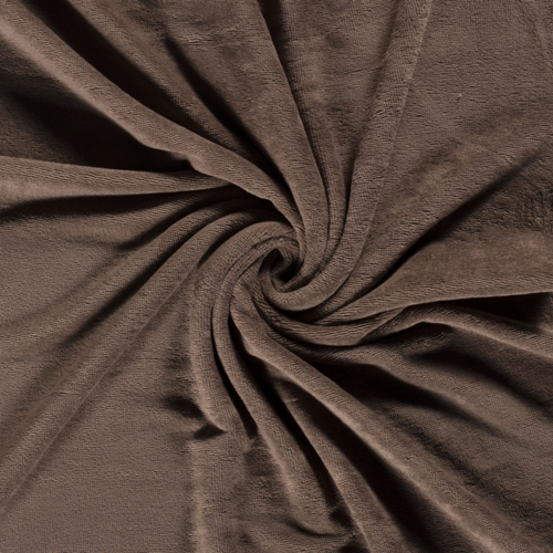 Eponge de Bambou coton taupe