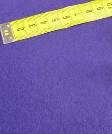 Polaire coton brossé noir carbone (1.39€/10cm)