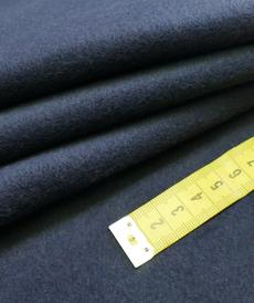 Polaire coton brossé marine (1.39€/10cm)