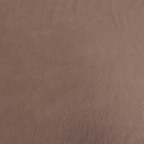 Polaire de coton sur maille tricot rose poudré (1.5€/10cm)