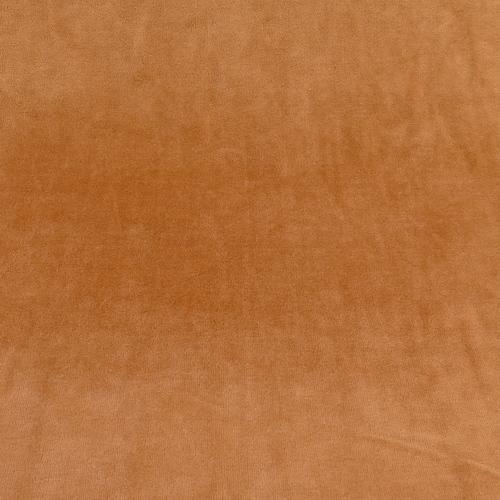 Jersey nicky velours camel (1€/10cm)