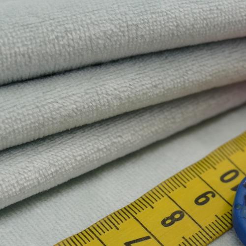Jersey nicky velours menthe (1€/10cm)