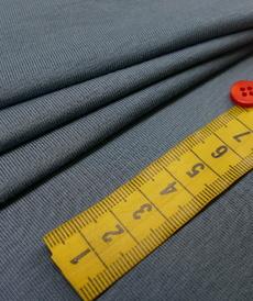 Jersey de bambou fluide bleu acier (1.2€/10cm)